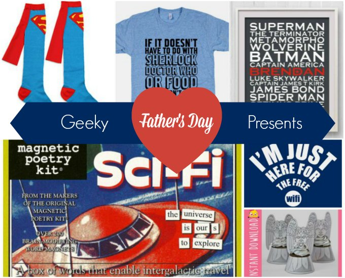 Geeky Father's Day Present Ideas | Karen Andrews