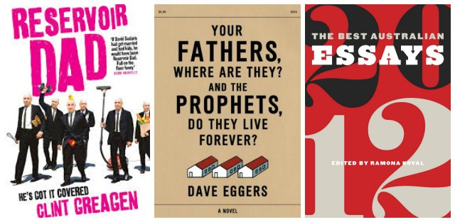 What I'm reading August 2014-1