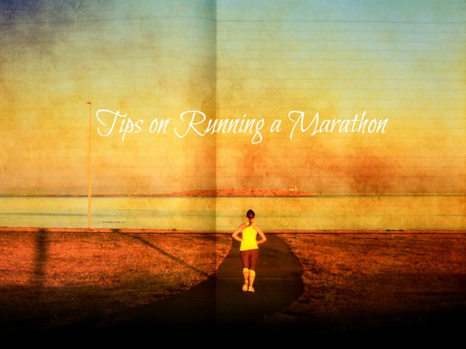 tips on running a marathon